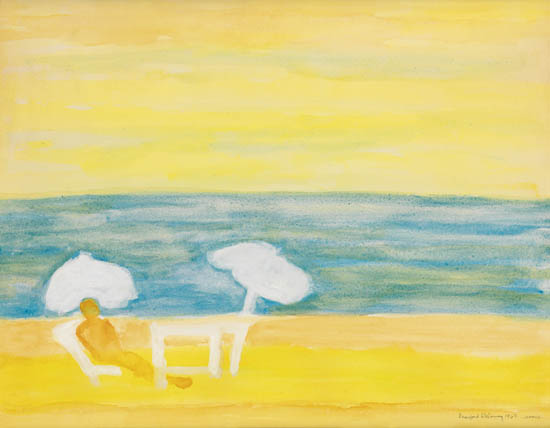 BEAUFORD DELANEY (1901 - 1979) Untitled (Cannes).