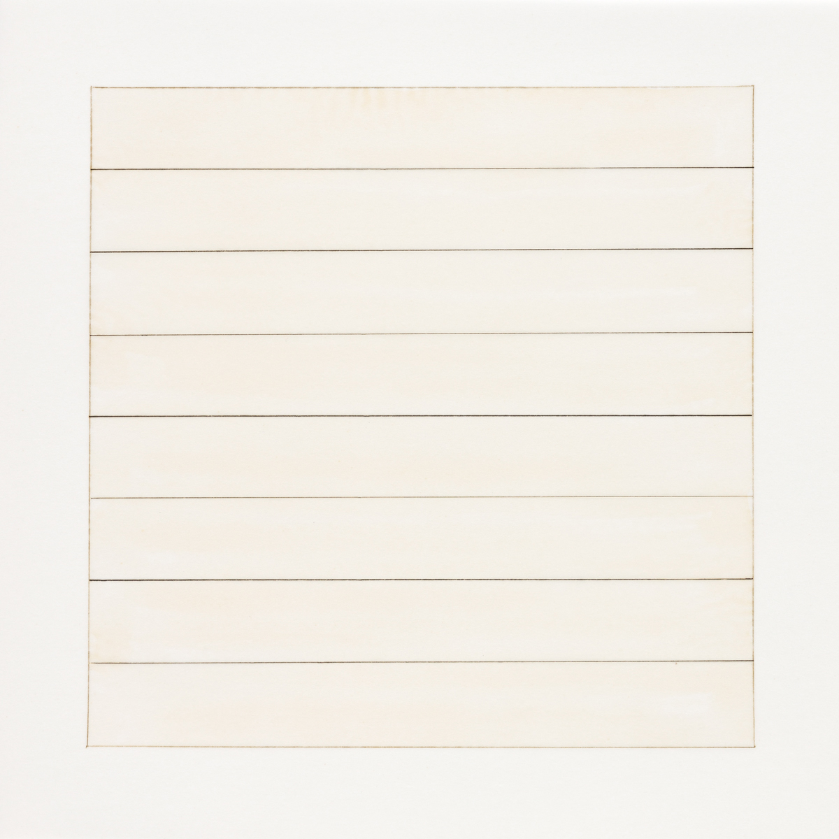 MARTIN, AGNES. Paintings and Drawings 1974-1990.