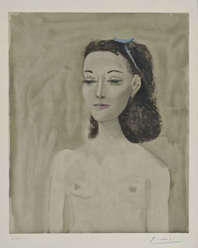 PABLO PICASSO (after) Femme nue