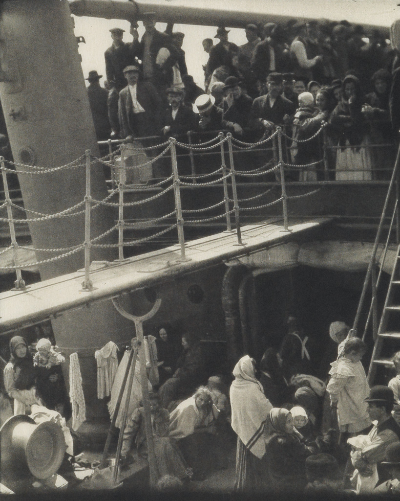 ALFRED-STIEGLITZ-(1864-1946)-The-Steerage-from-Camera-Work-Number-36