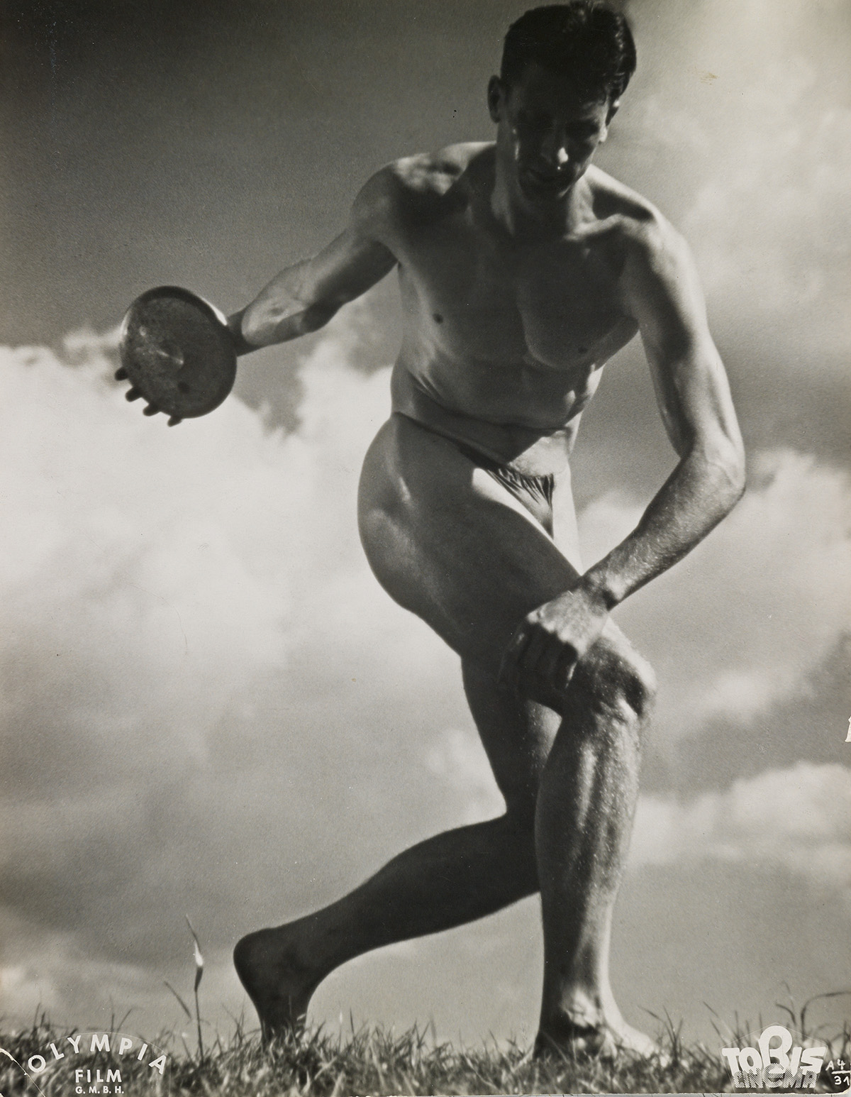 LENI RIEFENSTAHL (1902-2003) Discus Thrower, German Olympics.