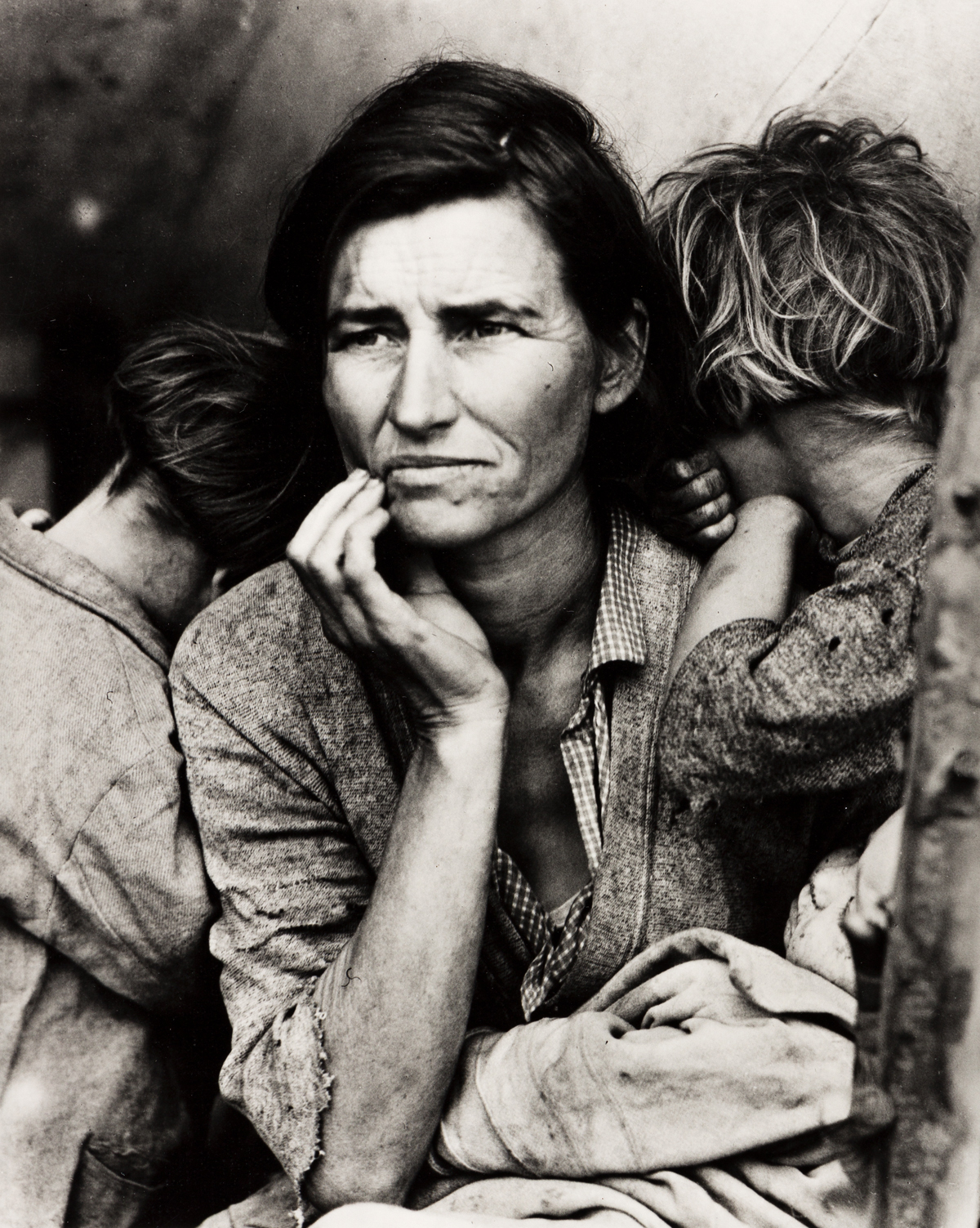 DOROTHEA LANGE (1895-1965) Migrant Mother.