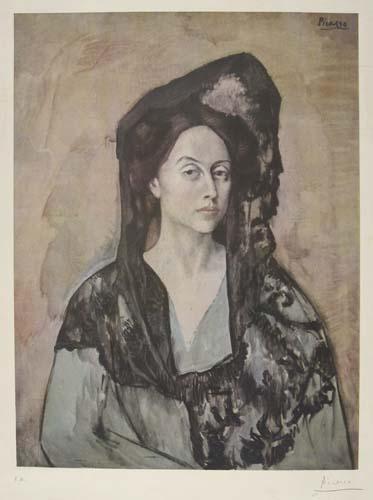 PABLO PICASSO (after) Madame Ricardo Canals
