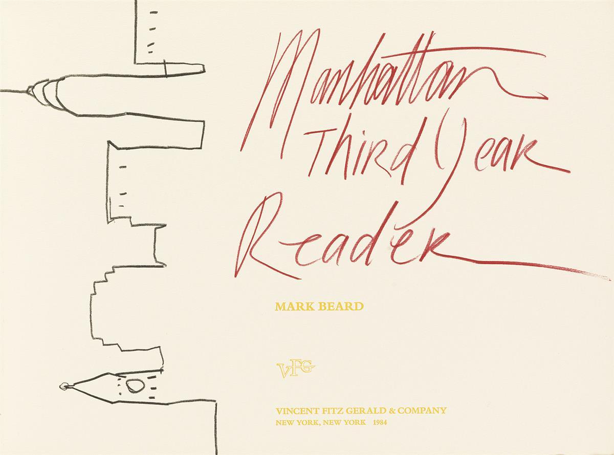 MARK BEARD (1956-)  Manhattan Third Year Reader.