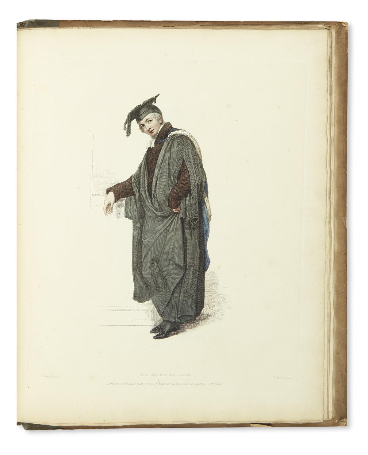 (COSTUME)-Uwins-Thomas-The-Costume-of-the-University-of-Oxfo