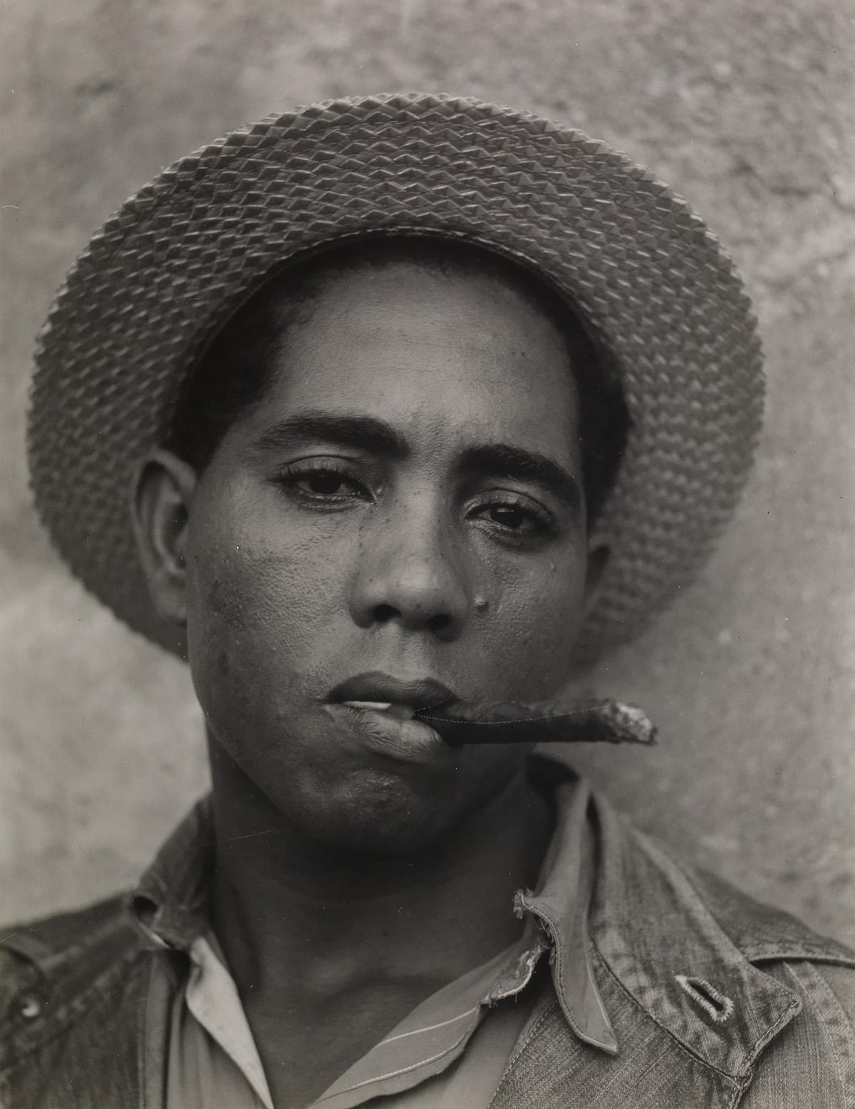 WALKER EVANS (1903-1975) Stevedore, Havana, Cuba (coal dock worker).