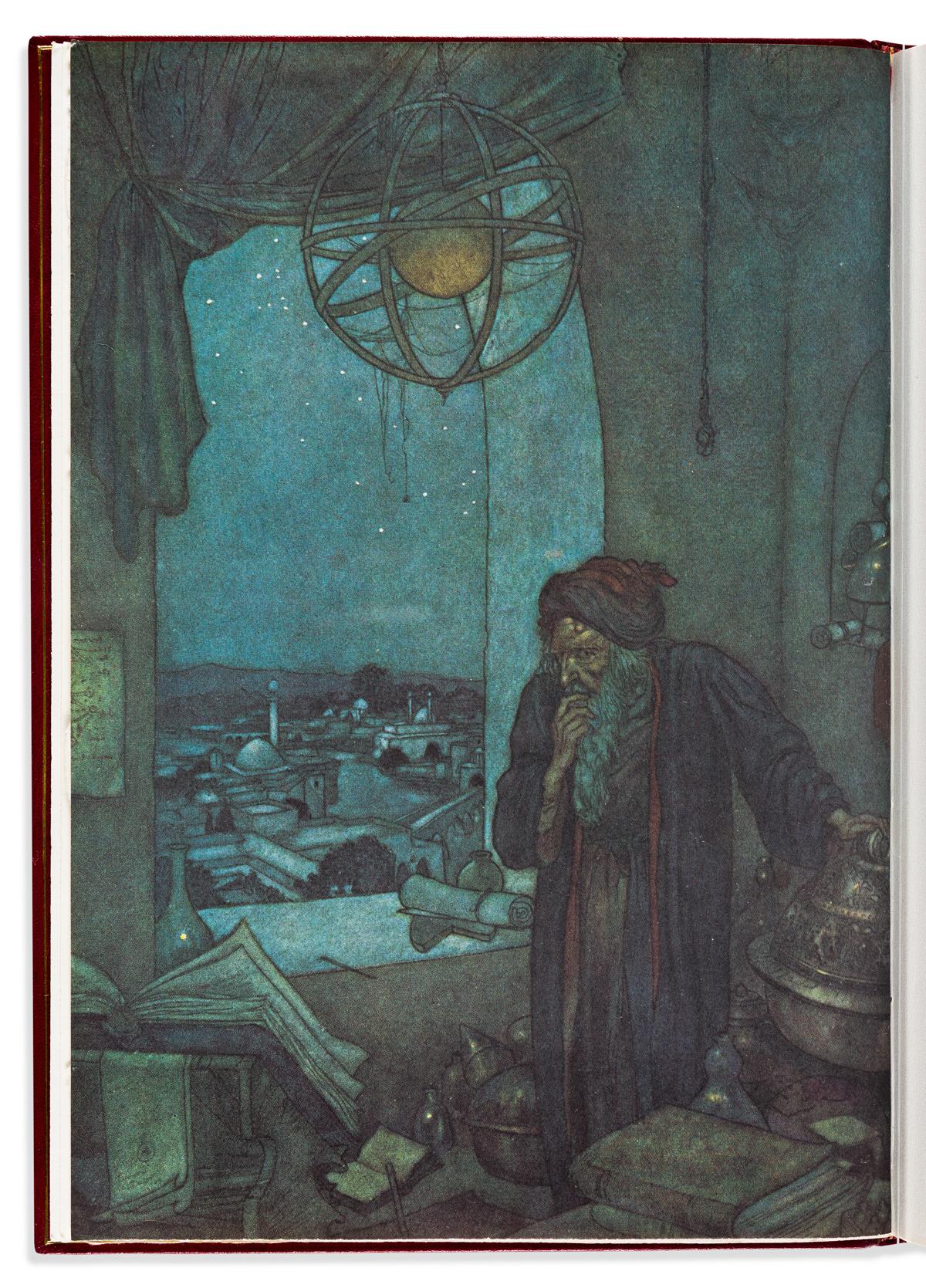 (RUBAIYAT.) KHAYYÁM, OMAR. Rubáiyát of Omar Khayyám: A Personal Selection from the Five Editions of Edward FitzGerald.