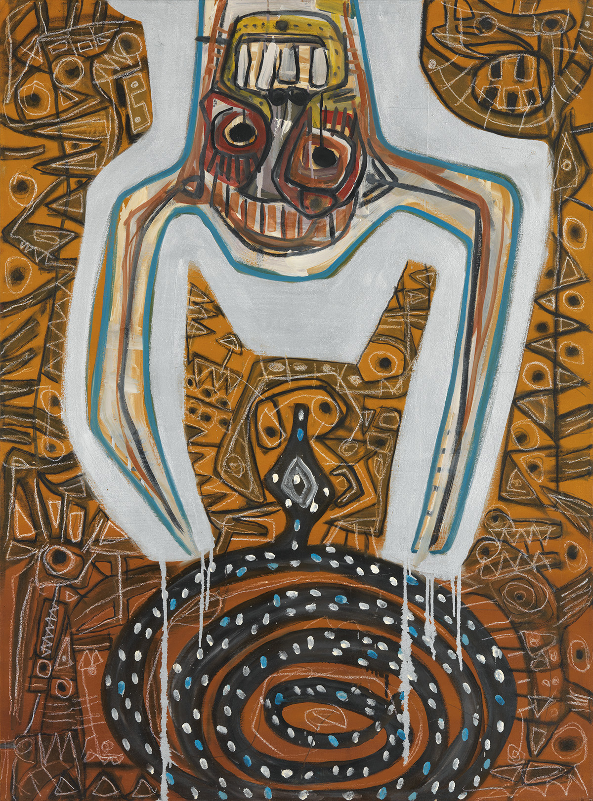 DANNY SIMMONS (1954 -   ) The Complicated and Ongoing Search for Sutiable Objects of Worship.