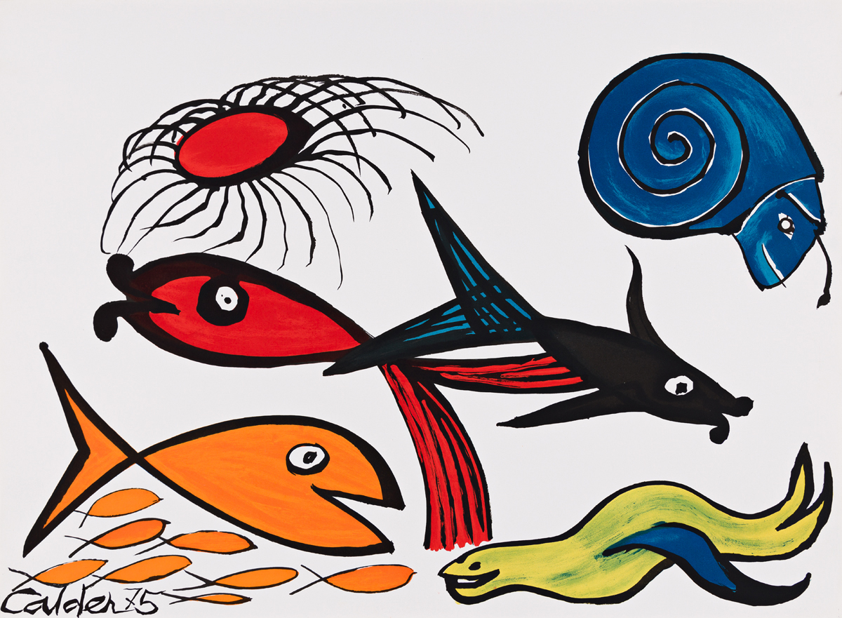 ALEXANDER CALDER Our Unfinished Revolution.