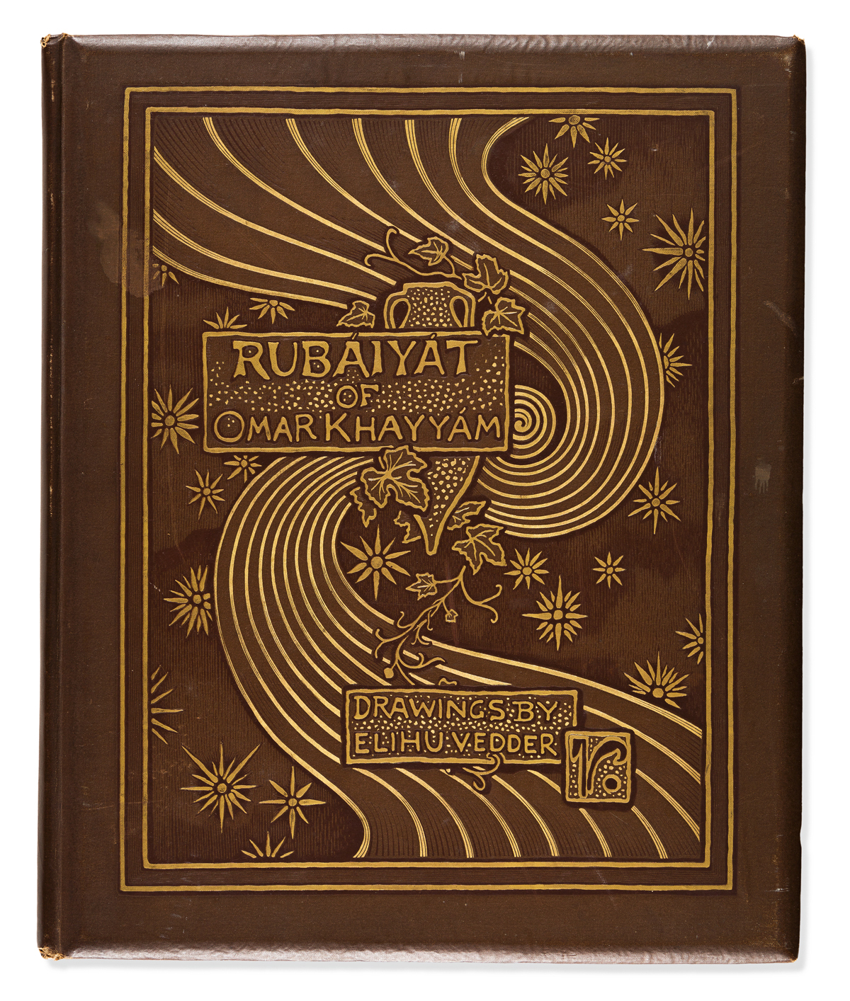 (RUBAIYAT.) VEDDER, ELIHU (illus.) The Rubaiyat of Omar Khayyam: The Astronomer-Poet of Persia.
