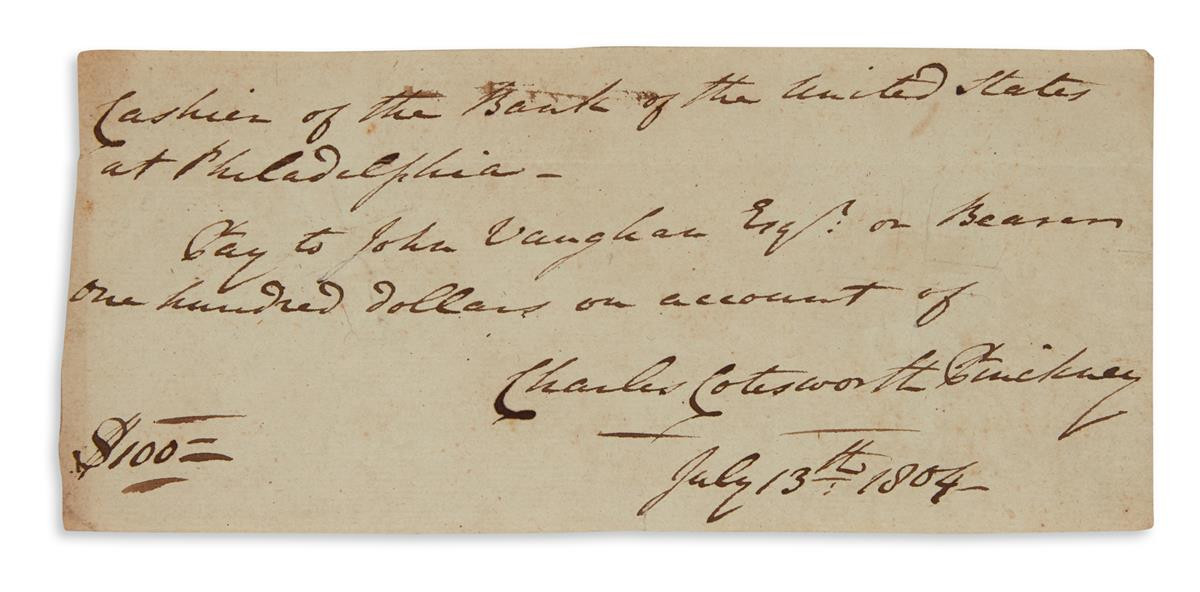 (AMERICAN REVOLUTION--AMERICAN SOLDIERS.) Group of 26 items Signed, or Signed and Inscribed, including mostly do...