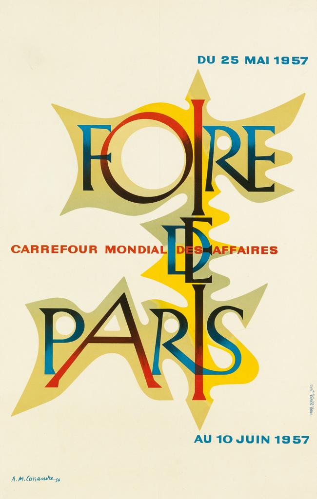 ADOLPHE-MOURON-CASSANDRE-(1901-1968)-FOIRE-DE-PARIS-1957-38x