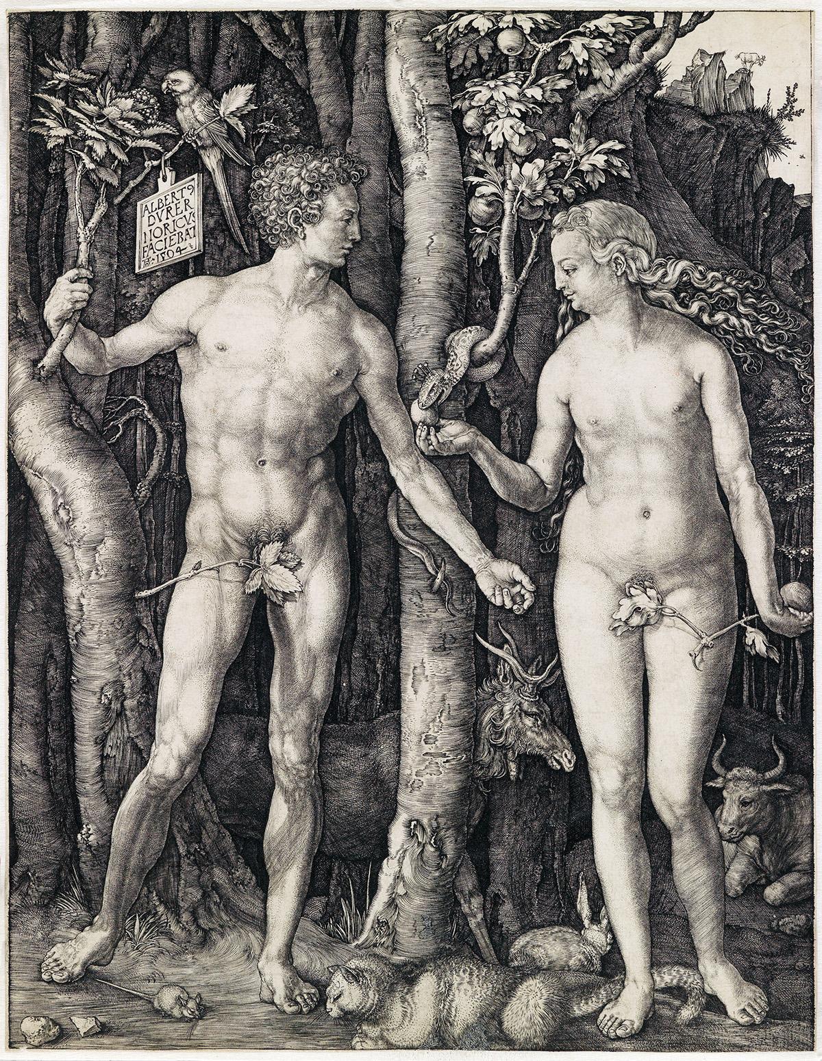 ALBRECHT-DÜRER-Adam-and-Eve