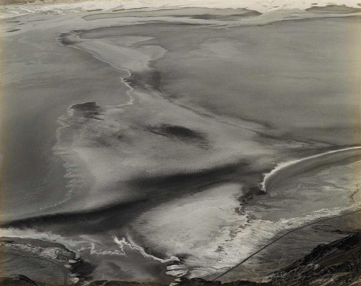 EDWARD WESTON (1886-1958) Salt Beds, Floor of Death Valley (Dantes View, Death Valley).