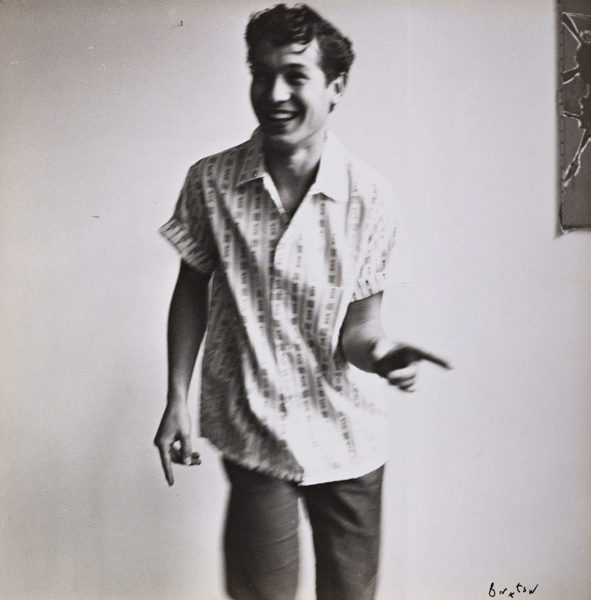CECIL BEATON (1904-1980) & HERBERT LIST (1903-1975) A trio of photographs of Andrea Tagliabue.