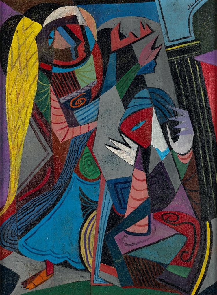 ROMARE BEARDEN (1911 - 1988) The Annunciation.