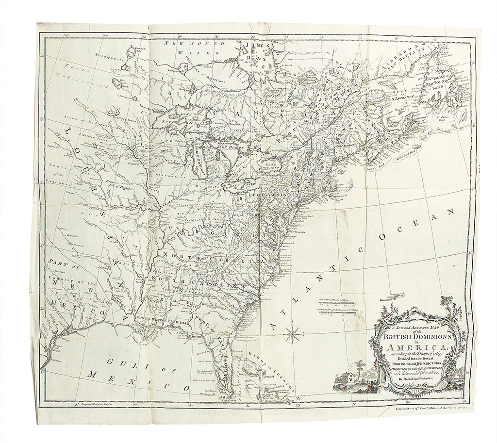 (FRENCH AND INDIAN WAR.) Knox, John. An Historical Journal of the Campaigns in North-America.