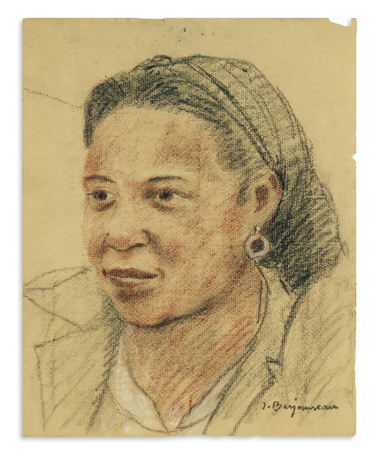 (ART.) Group of 3 portraits of Loïs Mailou Jones by various artists.