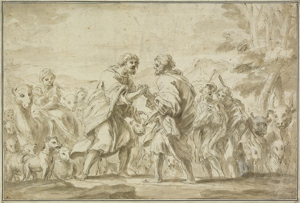 GENOESE-SCHOOL-17TH-CENTURY-Jacob-and-Esau
