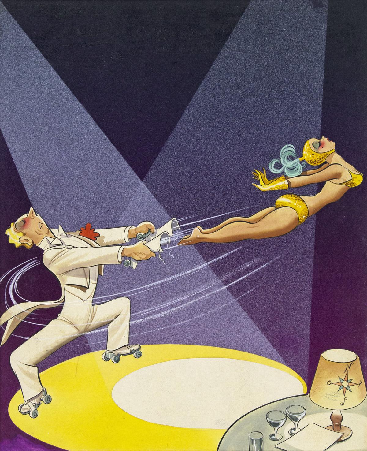 (ANTONIO)-ARIAS-BERNAL-Roller-Skaters