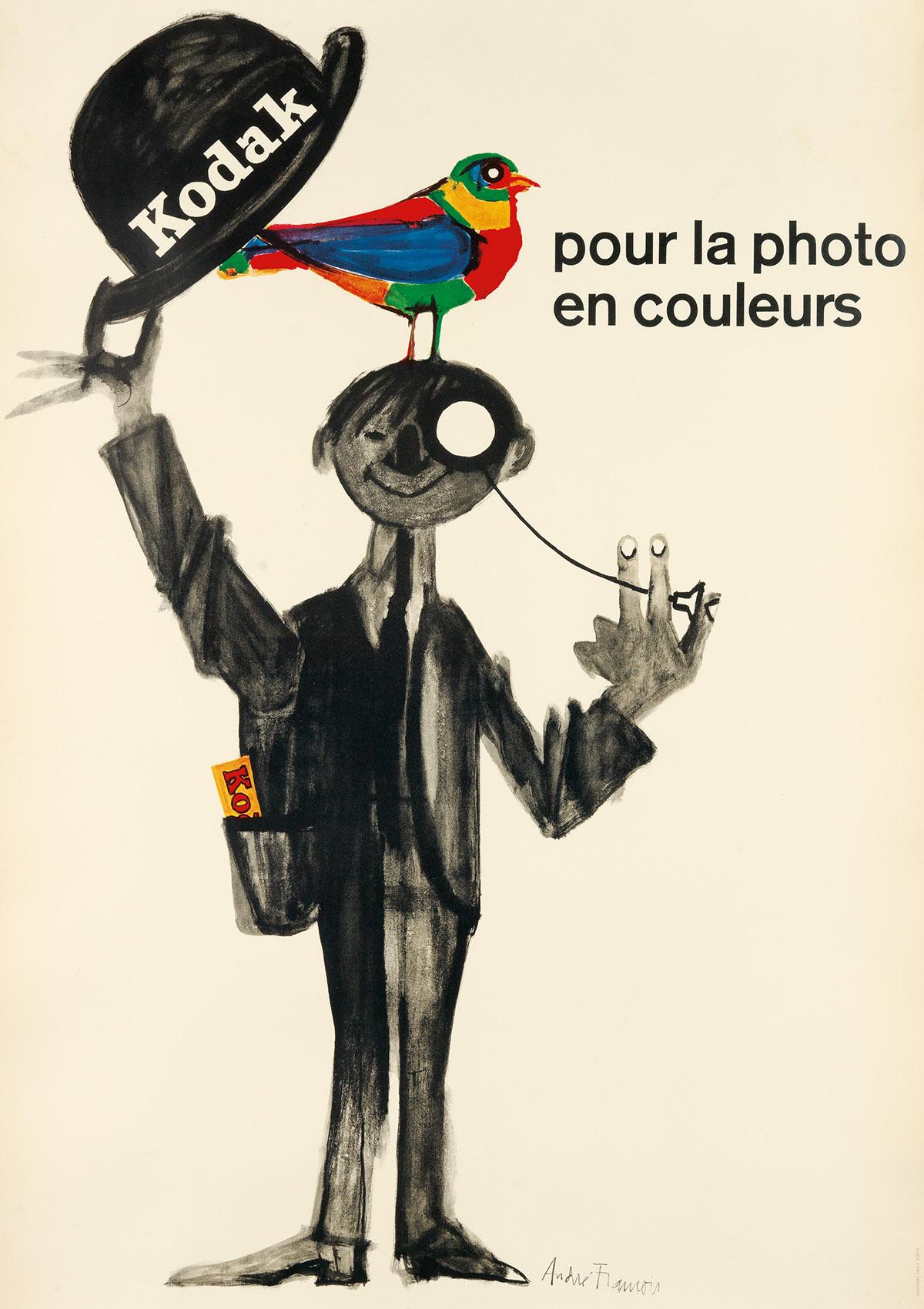 ANDRÉ-FRANÇOIS-(1915-2005)-KODAK--POUR-LA-PHOTO-EN-COULEURS-
