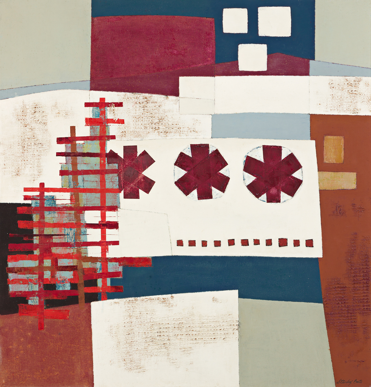 STANLEY BATE (1903-1972, AMERICAN) Untitled, #58.