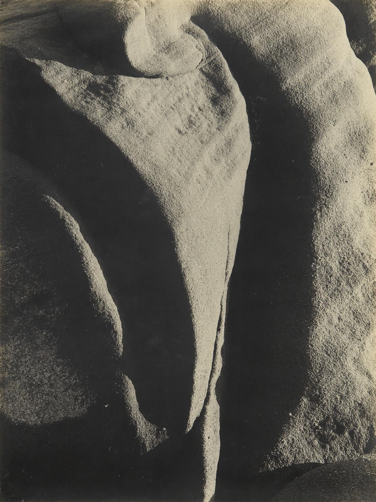 BRETT-WESTON-(1911-1993)-Abstraction-of-rocks