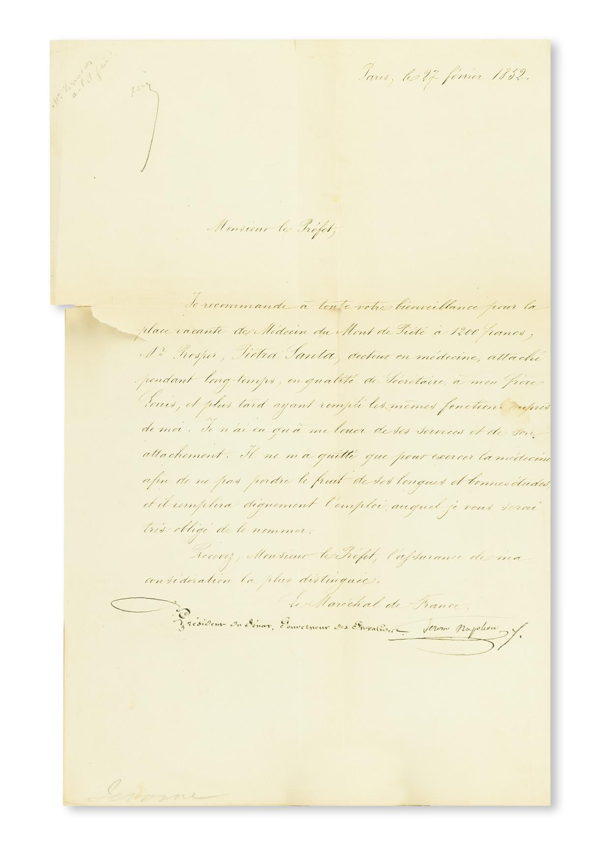 (NAPOLÉON)-Fauvelet-de-Bourrienne-Louis-Antoine-Memoirs-of-N