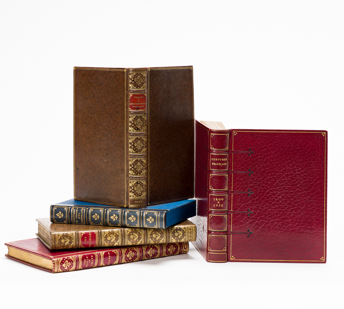 Color-plate Books in Fine Bindings.