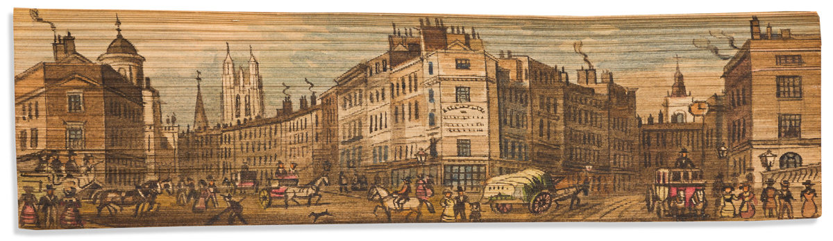 (FORE-EDGE PAINTING.) Pope, Alexander. The Poetical Works.