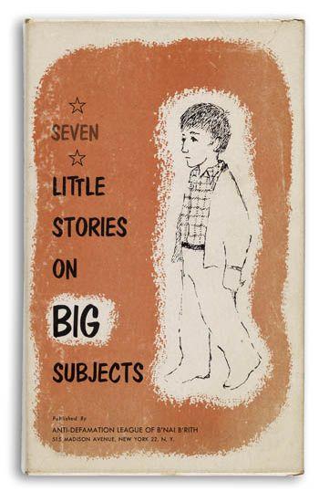 MAURICE SENDAK. Bond, Gladys Baker. Seven Little Stories on Big Subjects.