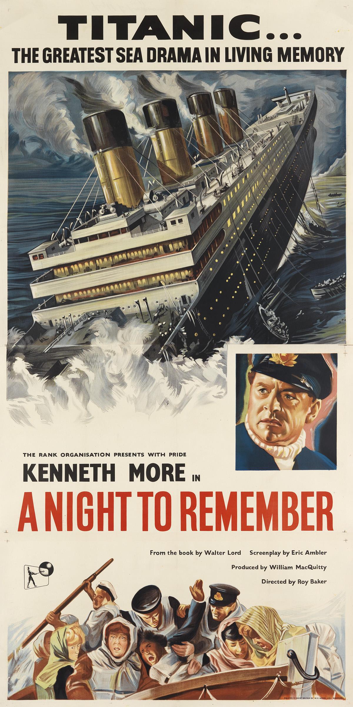DESIGNER-UNKNOWN-TITANIC-----A-NIGHT-TO-REMEMBER-1958-80x40-