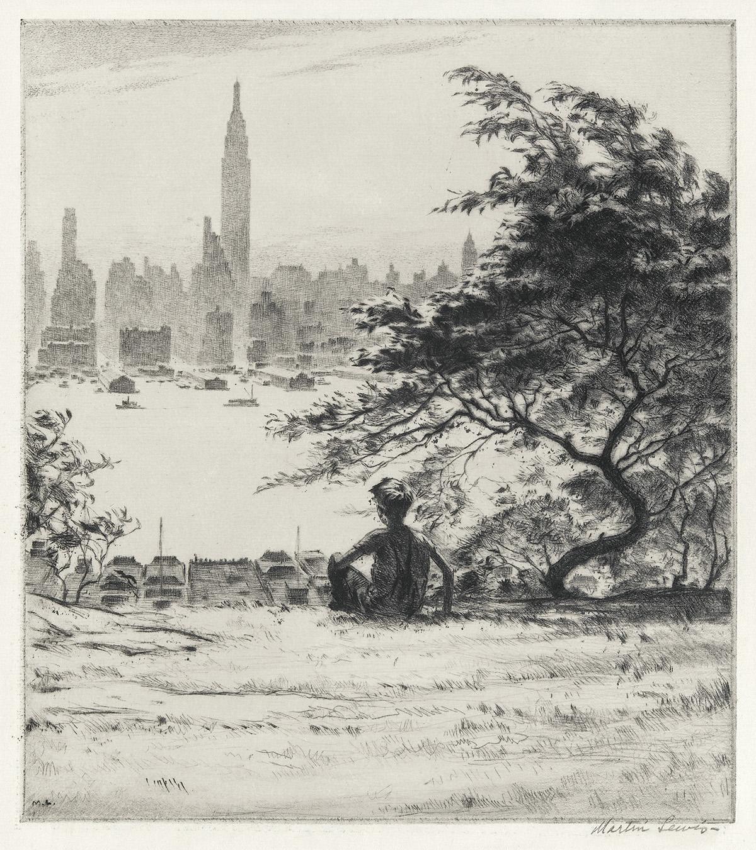 MARTIN-LEWIS-From-Hoboken-Heights