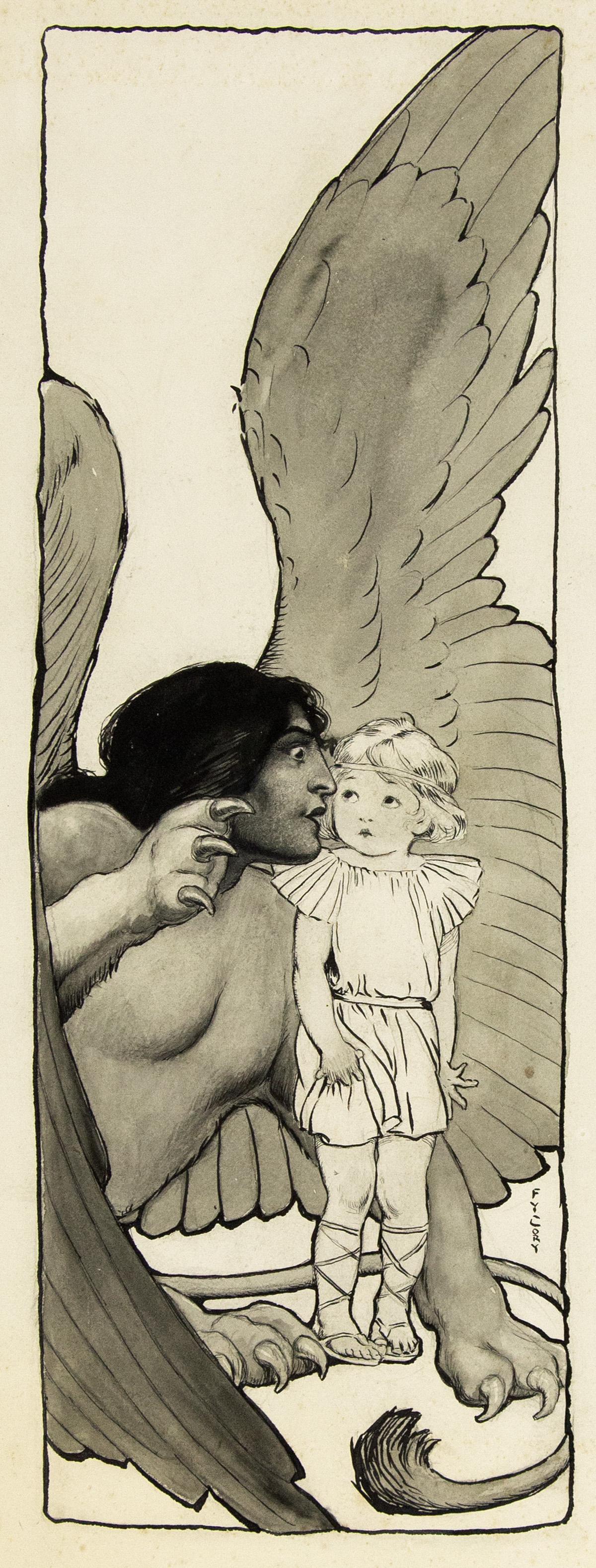 FANNY Y. CORY. The Bold Little Spartan Boy. [CHILDRENS / ST. NICHOLAS MAGAZINE]