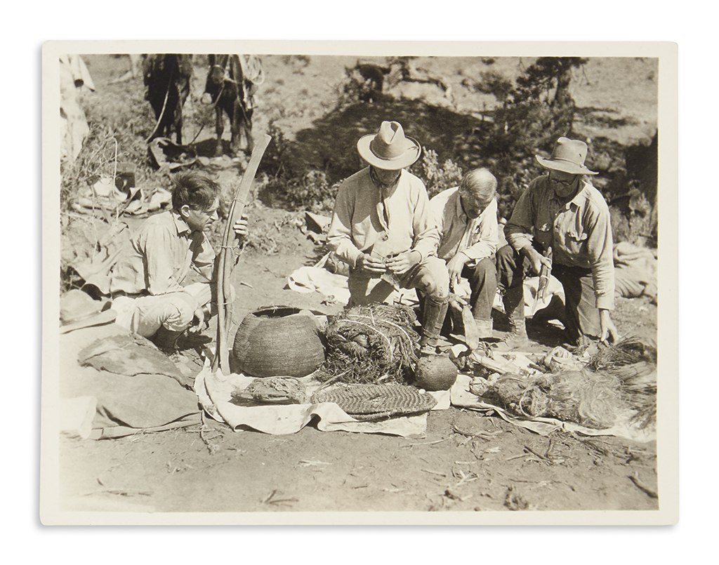 (ARCHAEOLOGY.) Archive of photographs of the Bernheimer Expedition to Mesa Verde.