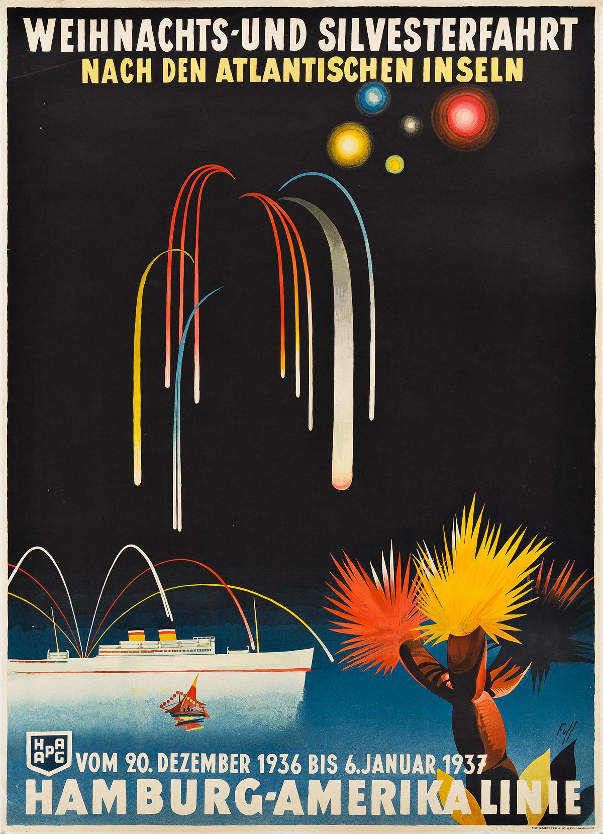 ALBERT-FÜSS-(1898-1969)-HAMBURG---AMERIKA-LINIE-1936-33x23-i