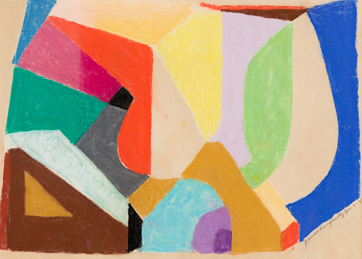 JAMES DAUGHERTY (1889 - 1974, AMERICAN) Untitled, (Jan. 7).