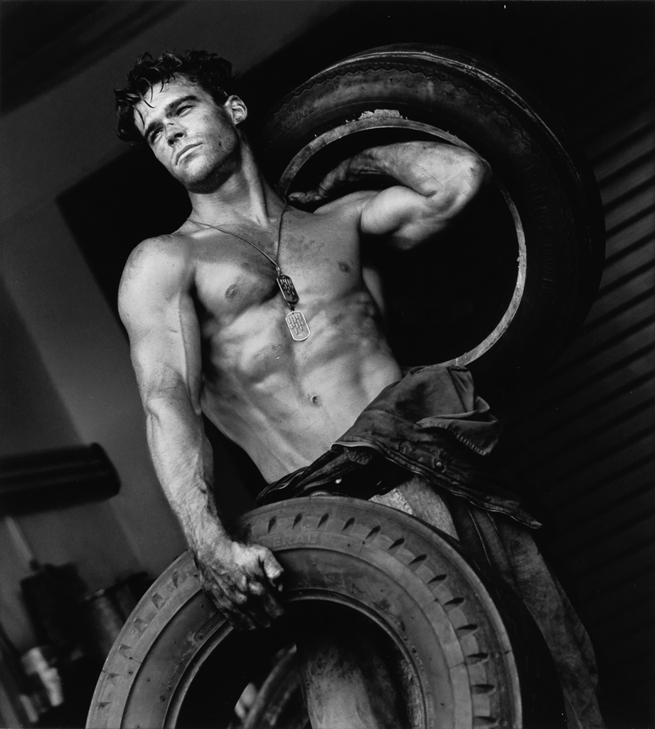 HERB RITTS (1952-2002) Fred with Tires, IV.
