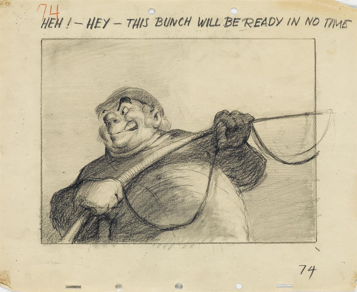 (WALT-DISNEY-STUDIOS--PINOCCHIO)-JOHN-TRAMONTI-Archive