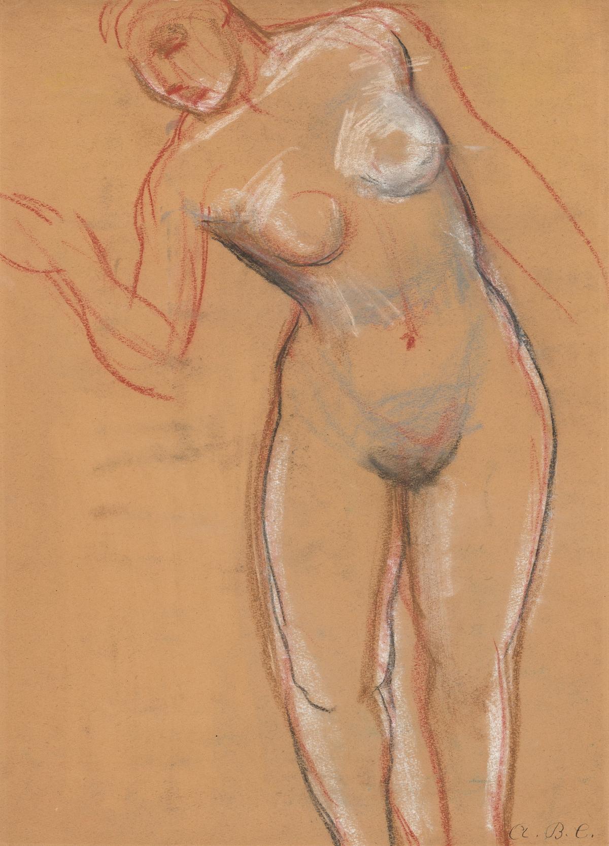 ARTHUR B. CARLES Standing Nude.