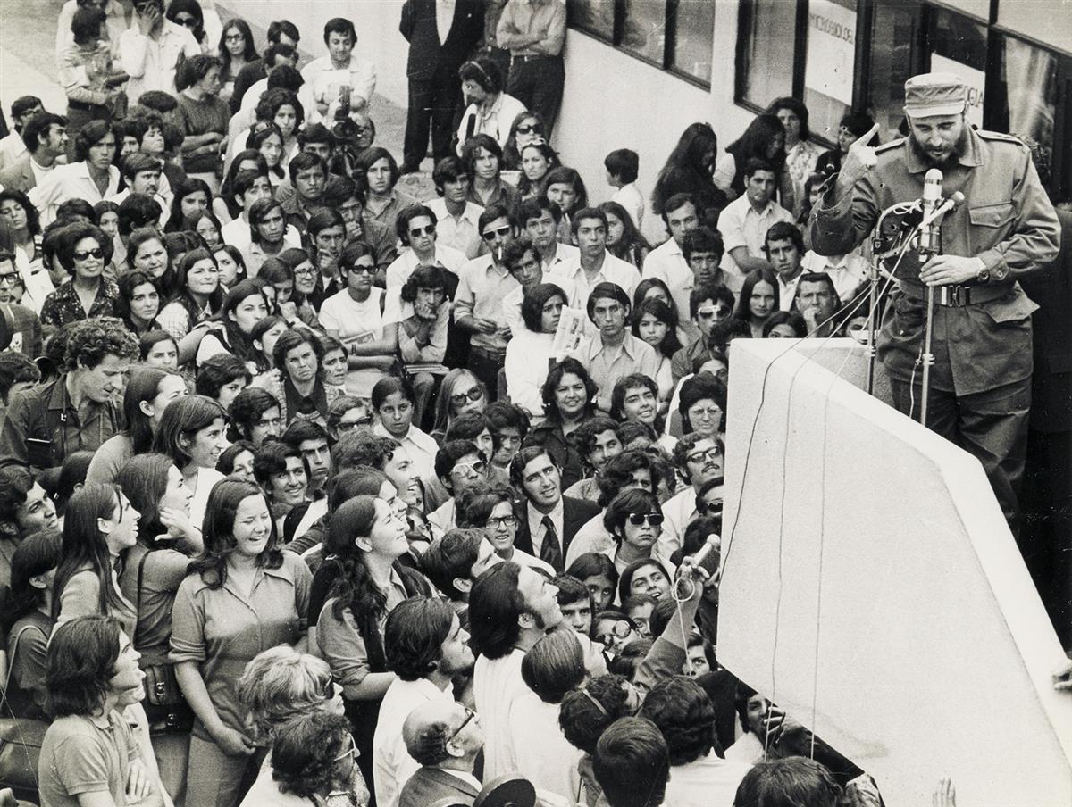 (FIDEL-CASTRO)-Group-of-15-photographs-of-Premier-Fidel-Cast