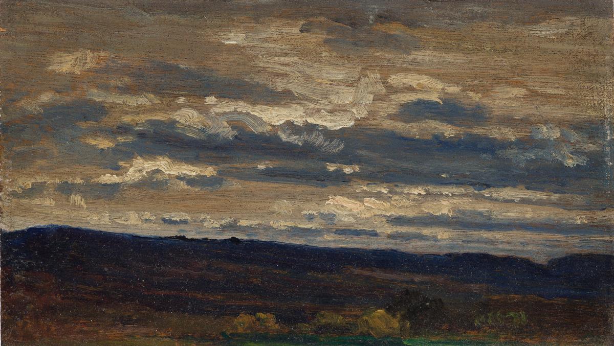 ARTHUR B. DAVIES Sky Study, Ramapo Mountains.