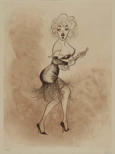Marilyn Monroe in Some Like it Hot.