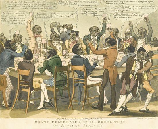 (SLAVERY AND ABOLITION--RACIST HUMOR.) TREAGAR, GABRIEL SHEAR. Life in Philadelphia, Tregear''s Black Jokes.