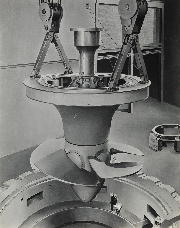 CHARLES SHEELER (1883-1965) Suspended Power.