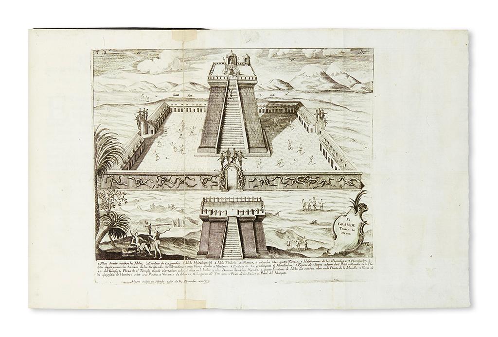 (MEXICAN-IMPRINT--1770)-Hernán-Cortes;-and-Francesco-Lorenza