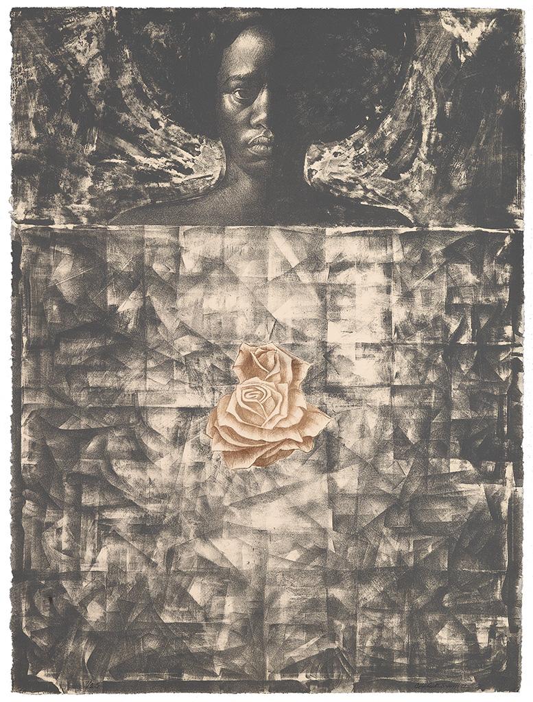 CHARLES WHITE (1918 - 1979) Love Letter #1 (Angela Davis).