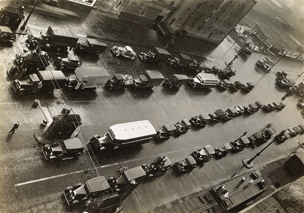 MARGARET BOURKE-WHITE (1904-1971) New Jersey entrance to the Holland Tunnel.