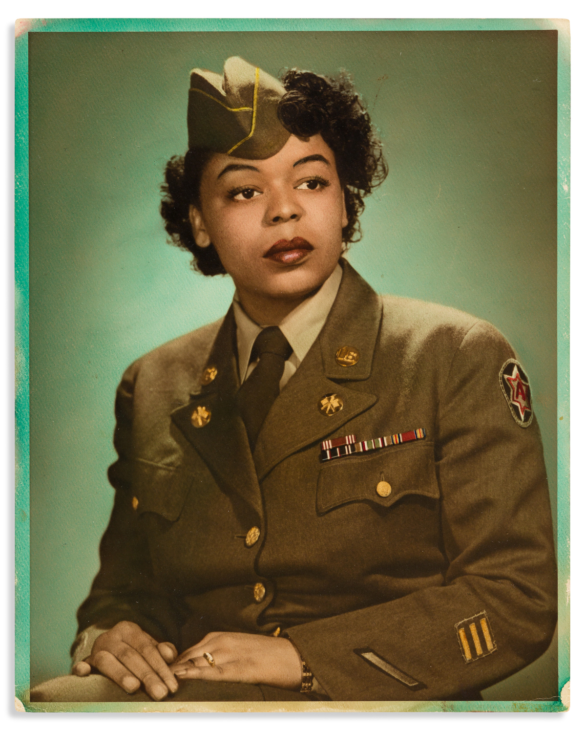 (MILITARY--WORLD WAR TWO.) Papers of Margaret P. Simmons of the Womens Army Corps.