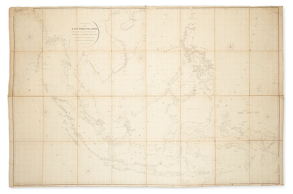 ARROWSMITH, AARON. Chart of the East India Islands